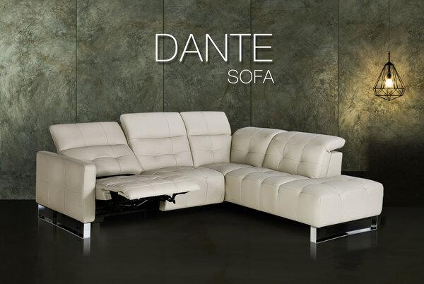 電動沙發推薦 Dante 丹堤全牛皮電動沙發 睡眠王國集團