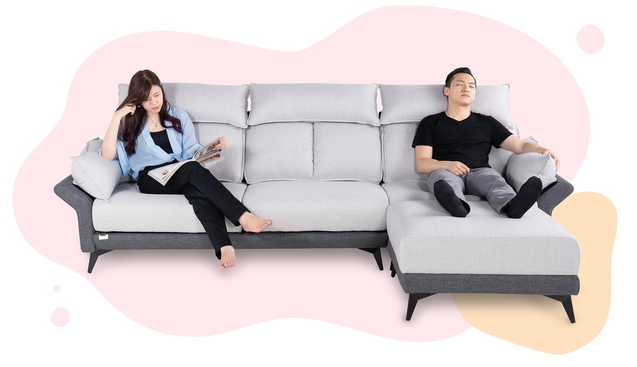 布沙發推薦|Bubble 泡泡糖機能布沙發|睡眠王國集團