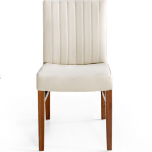 實木餐桌推薦|Alisa 愛莉莎全牛皮餐椅|睡眠王國集團