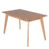 餐桌椅推薦 Brandon 布蘭登實木餐桌 睡眠王國集團