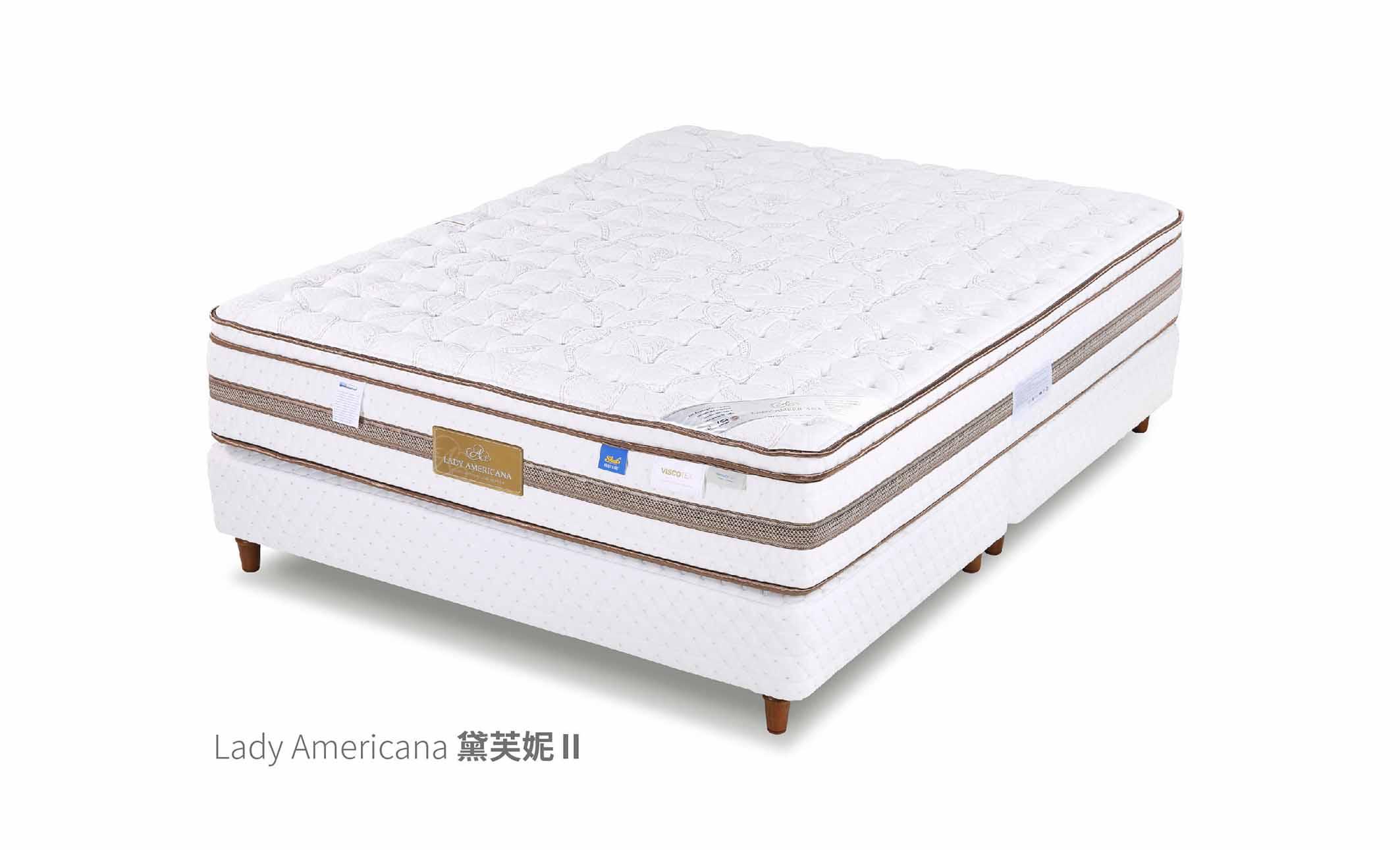 健康床墊mattress|萊儷絲名床 黛芙妮II|睡眠王國集團
