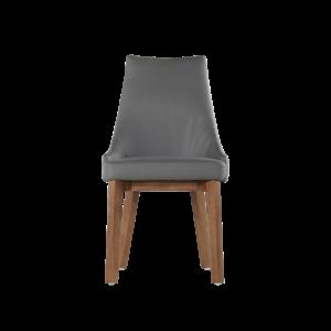 餐桌椅推薦|Eileen 艾琳Ⅱ全牛皮餐椅|睡眠王國集團