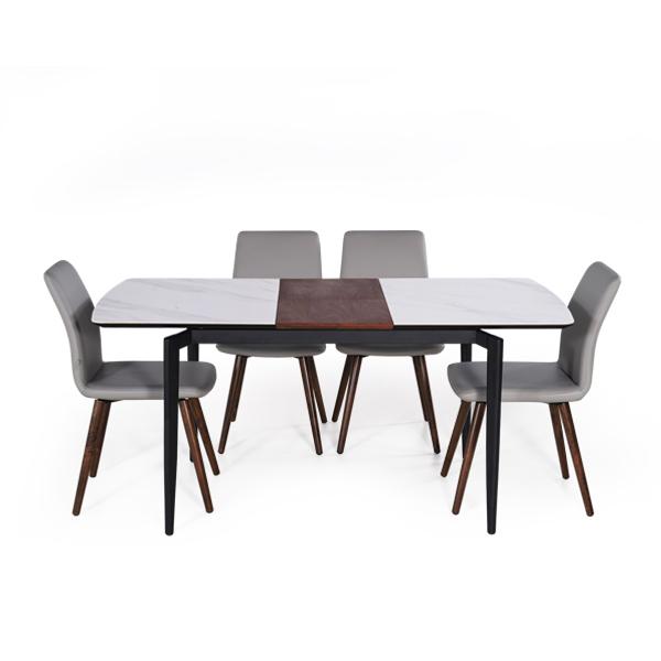 陶瓷餐桌推薦 Florence 佛羅倫斯陶瓷拉合餐桌 睡眠王國集團