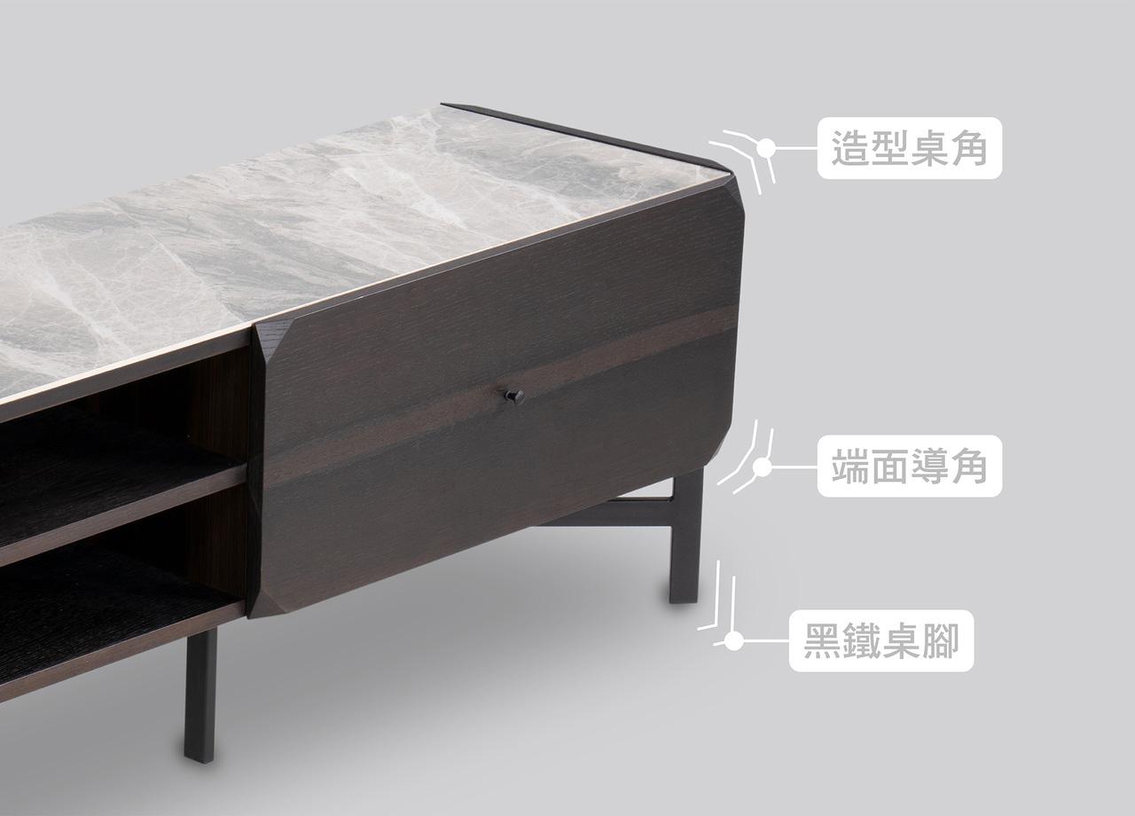 櫃類推薦|Ryan萊恩陶瓷電視櫃|睡眠王國集團